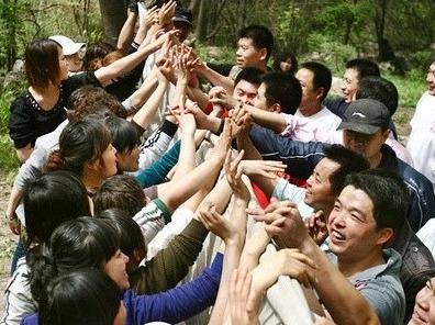 相约春天-济宁微山湖公园相亲会。