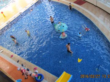 4月22日三道江温泉游泳活动