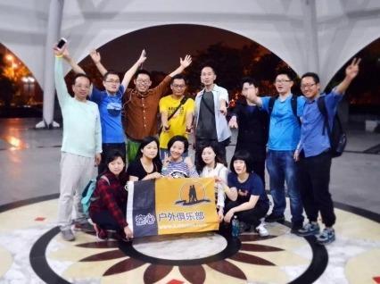 8月1日:松江中央公园夜徒活动