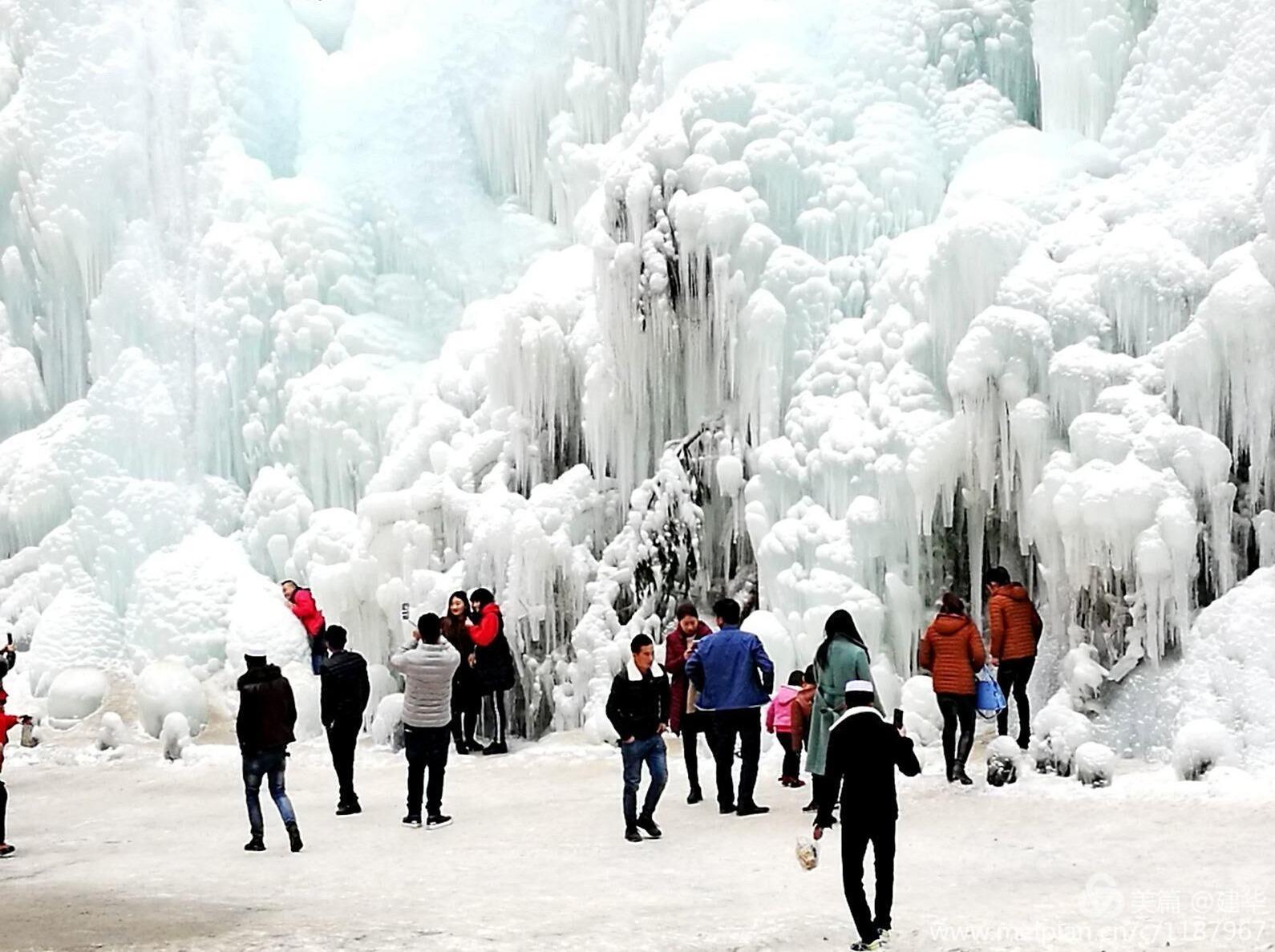 大墩峡冰瀑摄影活动
