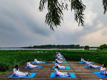 瑜伽摄影活动