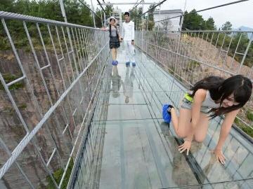 3月26日广东最刺激的玻璃吊桥探险
