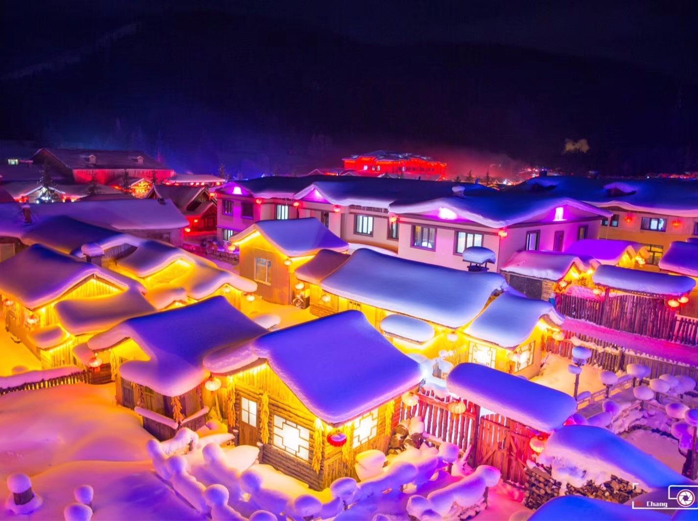 哈尔滨雪乡长白山魔界摄影7日特价休闲游