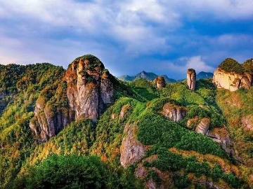 仙都地质公园之岩门
