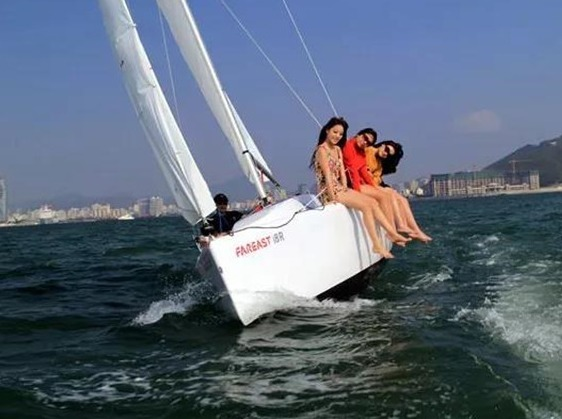 大美惠东每周六日铁团出发帆船出海鹭鸟齐飞