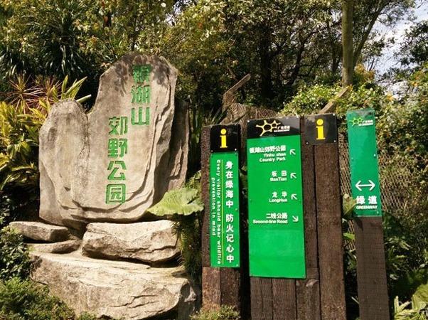 55户外-【走遍深圳】银湖山郊野公园穿越