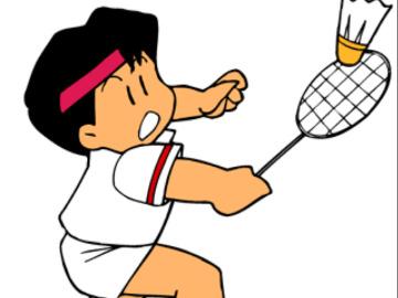 一起打羽毛球吧