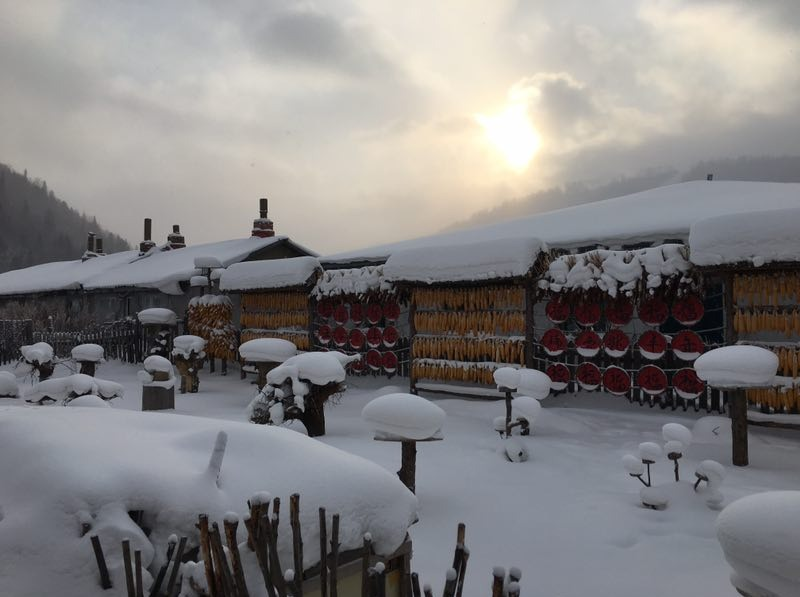 福州出发到东北哈尔滨滑雪六日游