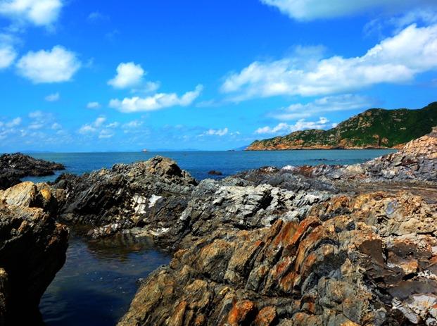 9.22:大襟岛上邀明月,南湾沙滩戏海涛