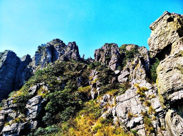 韶关茶岩顶穿越
