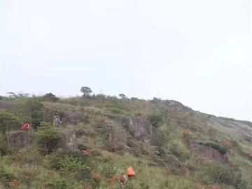 五一姑婆山登山活动