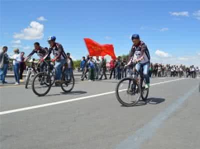 10.29日防城港自行车慢赛活动