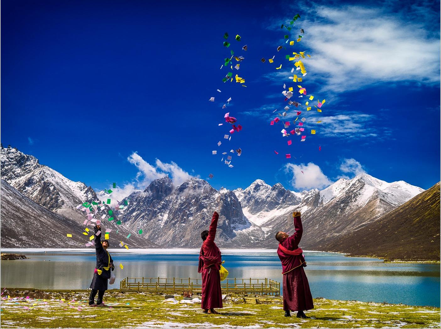 去川藏体验宁静的初夏