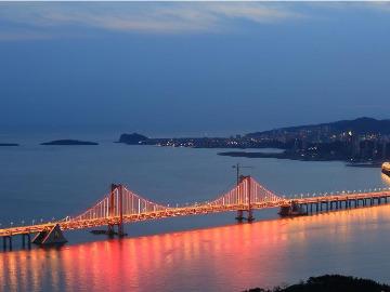 跨海大桥至老虎滩徒步