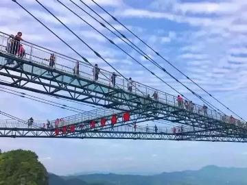 世界第一高空玻璃悬廊灵江源《特价》一日游