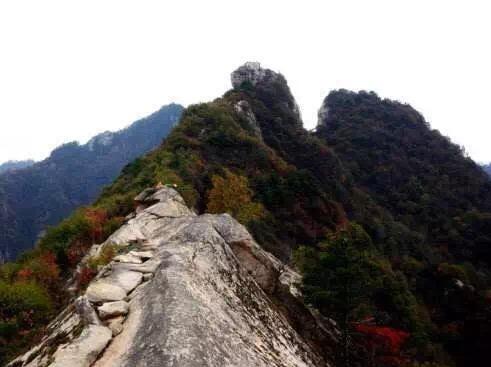 2019.3.3小峪穿越嘉午台白道峪