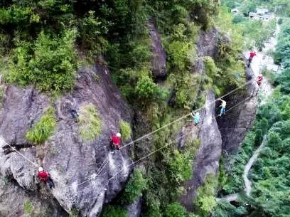 8月20日(周日)神仙居飞拉达攀岩