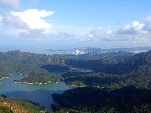 珠海凤凰山-爬滚石路、赏无敌海景
