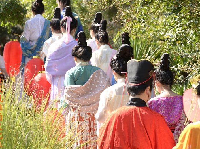 2018年上海七夕汉服文化传统体验活动
