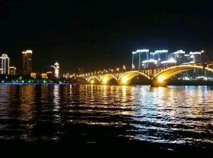 7月5日 夜徒,盘龙公园一古镇一三桥