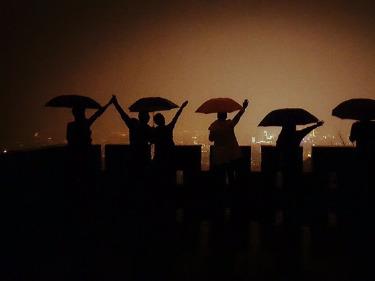 风雨无阻:夜登紫金山-第228期
