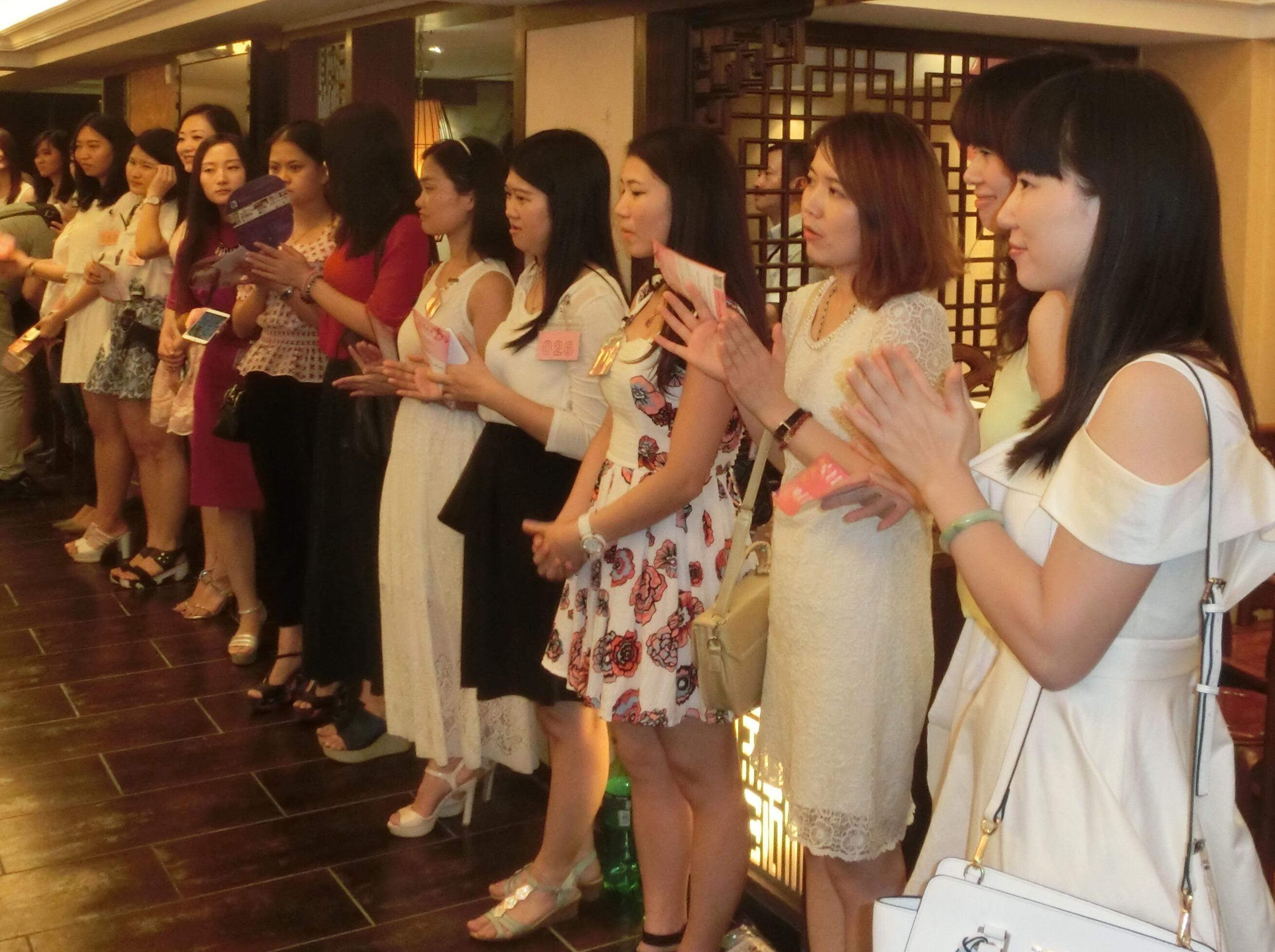 爱情来了 —广州大型单身相亲交友活动