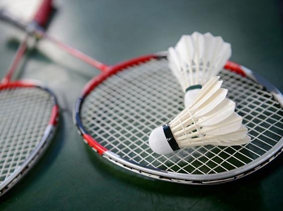 羽毛球男女混合双打友谊赛