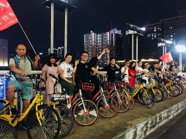 12月27周五晚珠江夜骑,赏珠江最美夜景