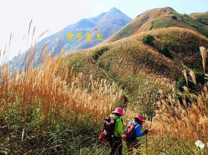 1月13日勇登惠州大南山挑战小武功山