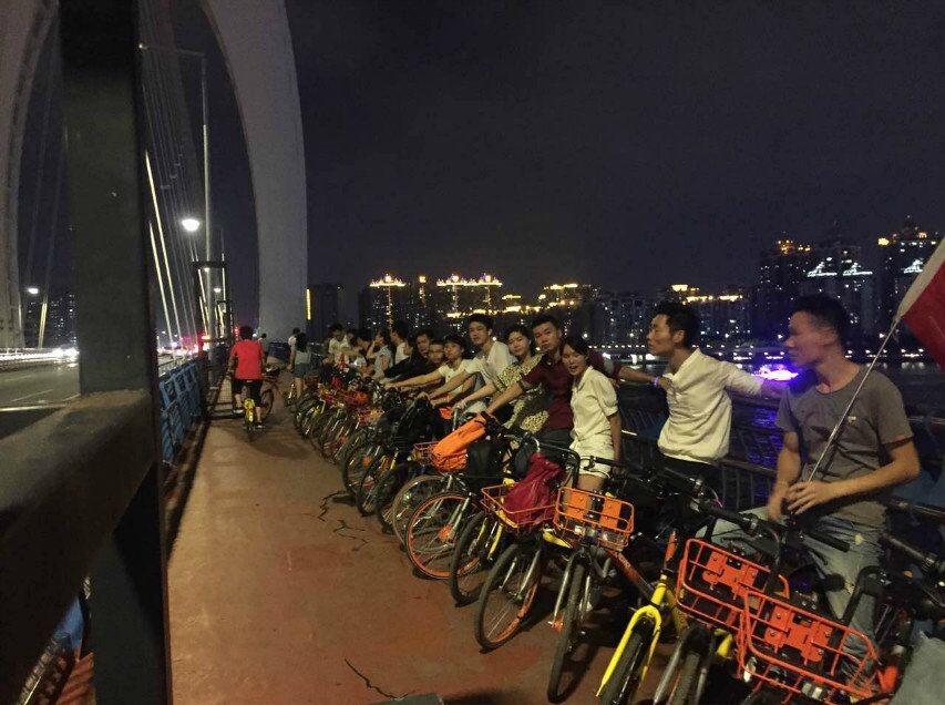 9月8日夜骑珠江,共赏灯光夜景