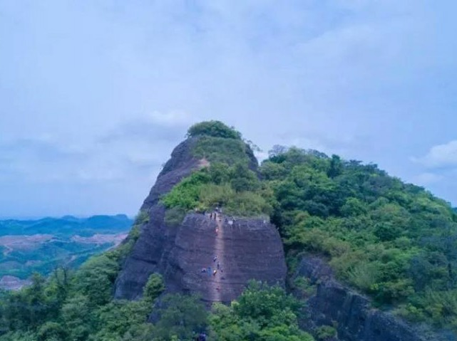 12月24日惠州马鞍山徒步、攀岩一线天