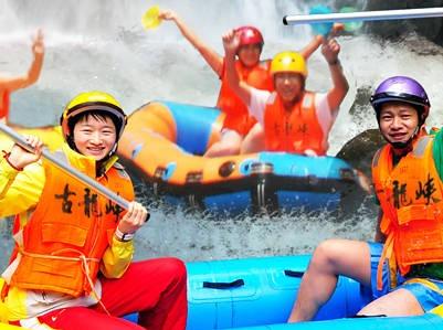 7月15日古龙峡漂流+船游小北江