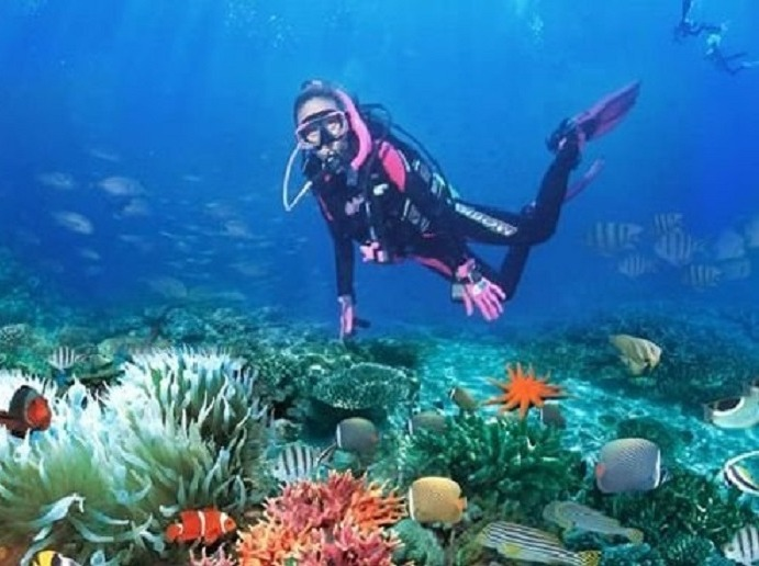 8月12日深圳南澳情人岛潜水、烧烤、快艇