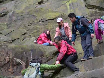 徒步登山:刺泡,911,歌乐山