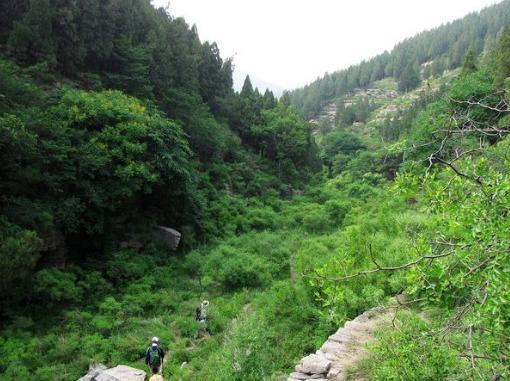 浆水泉-藏龙涧户外徒步越野