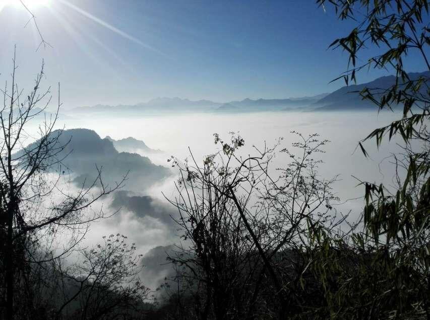 2月25日登顶赵公山
