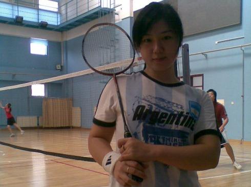 2月18日 周六 羽毛球和阿蒙森相亲活动