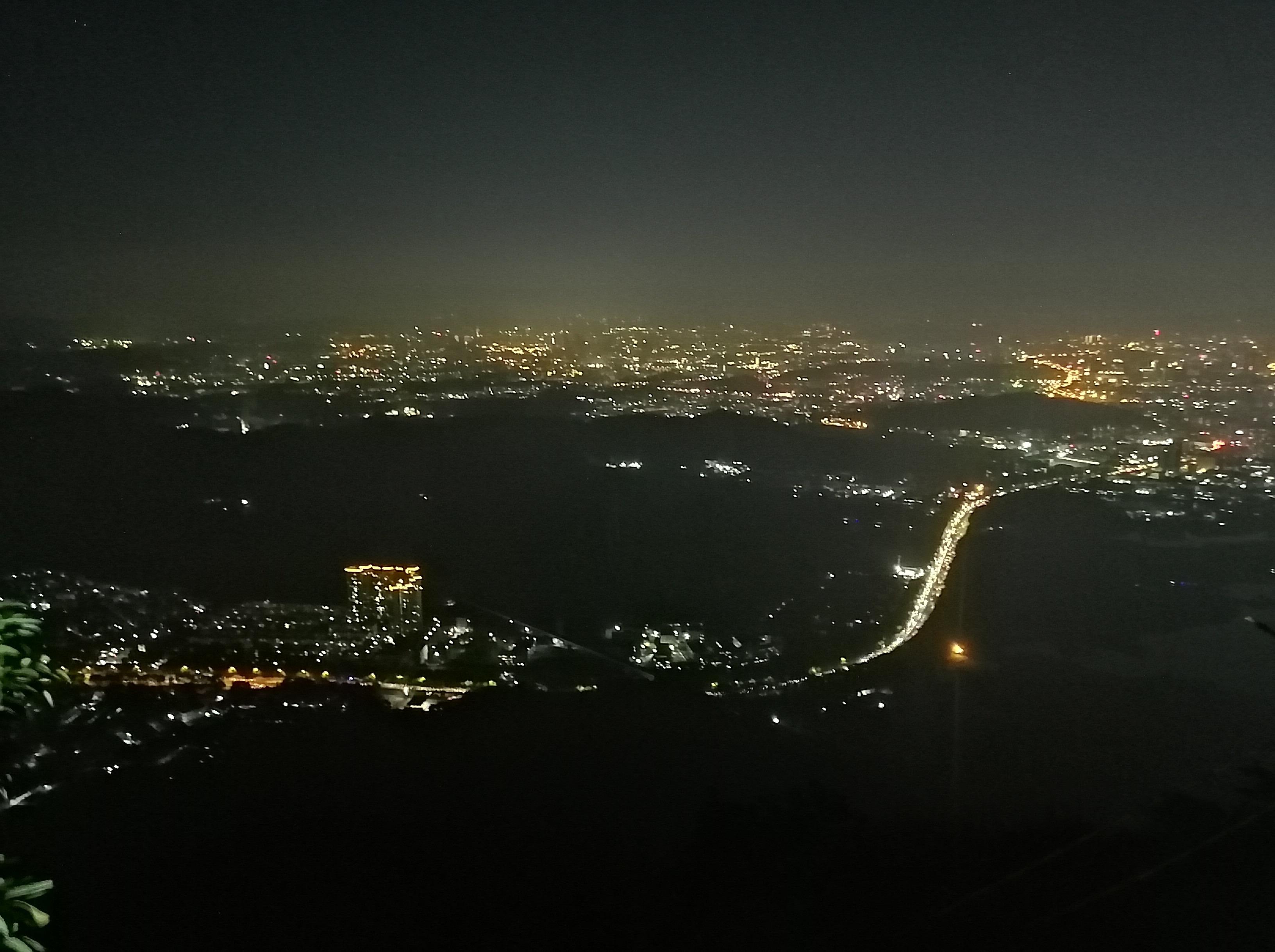 每周二夜爬莲花山