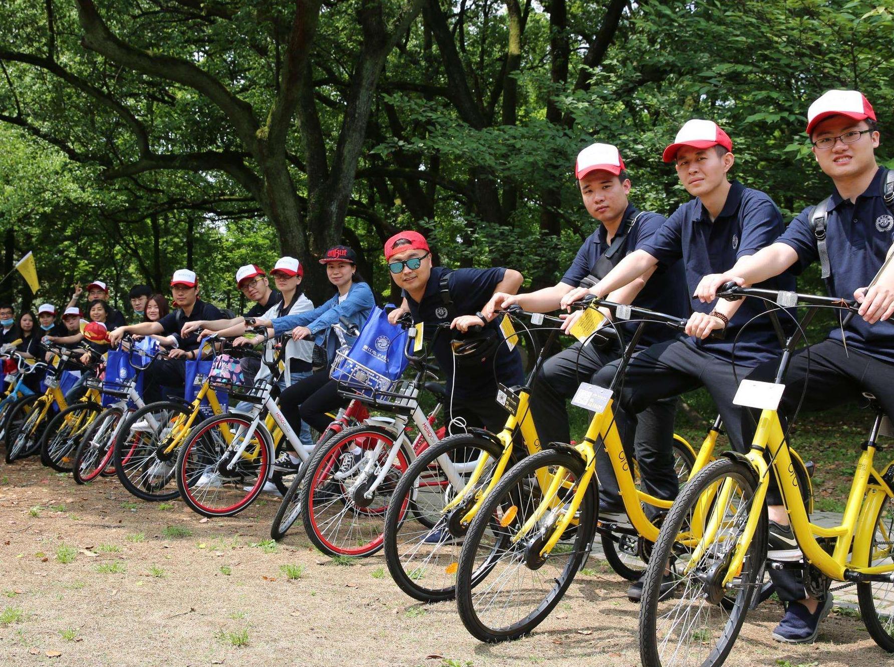 共享单车,共享蓝天,大家来骑车彼此认识吧