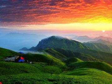 6月15-16醉美武功山登山摄影两日游