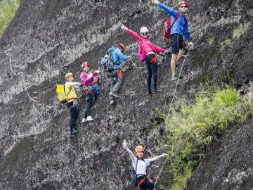 9月24号周日东浒寨飞拉达攀岩体验一日游