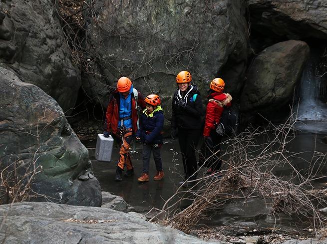 自然冰瀑攀冰体验(星期四)
