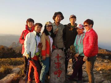 5月2号3号两天出行太行十字岭爬山看云海