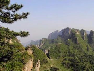 22号23号,两天辉县太行关山穿越八里沟