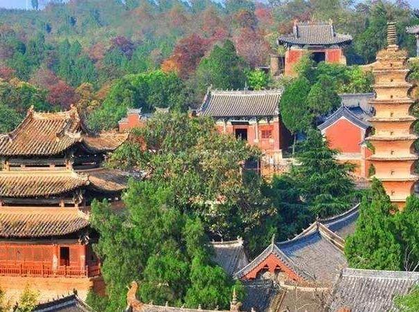 12月30号周日,出行嵩山野线穿越少林寺