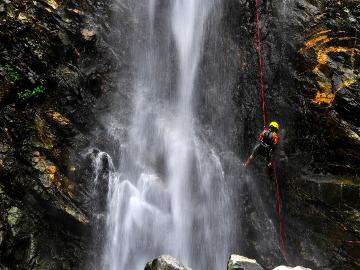 周末老君山 瀑降 玩水 冰冰凉 心飞扬
