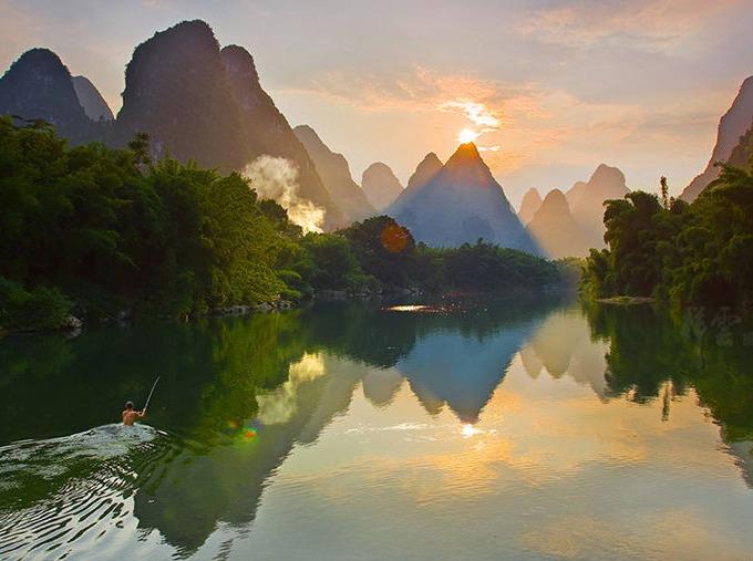 6月17-18号宜州刘枧河、怀远二日游