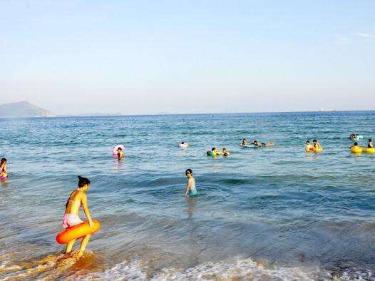 北山湾游泳