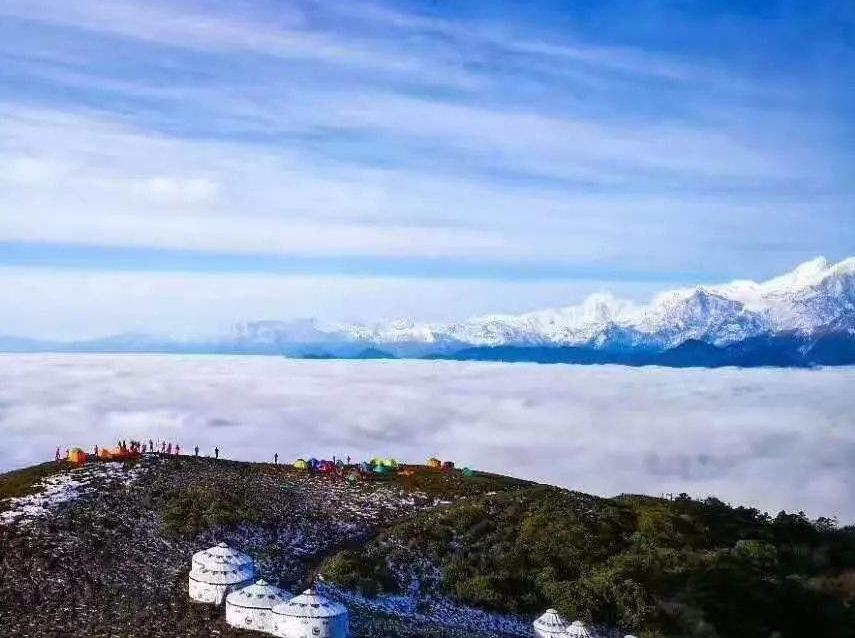 红岩顶两日游,360度观景平台