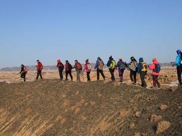 12月23日徒步采石场